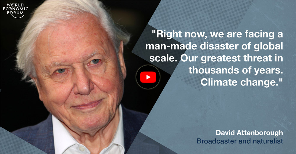 Sir David Attenborough at Climate Summit